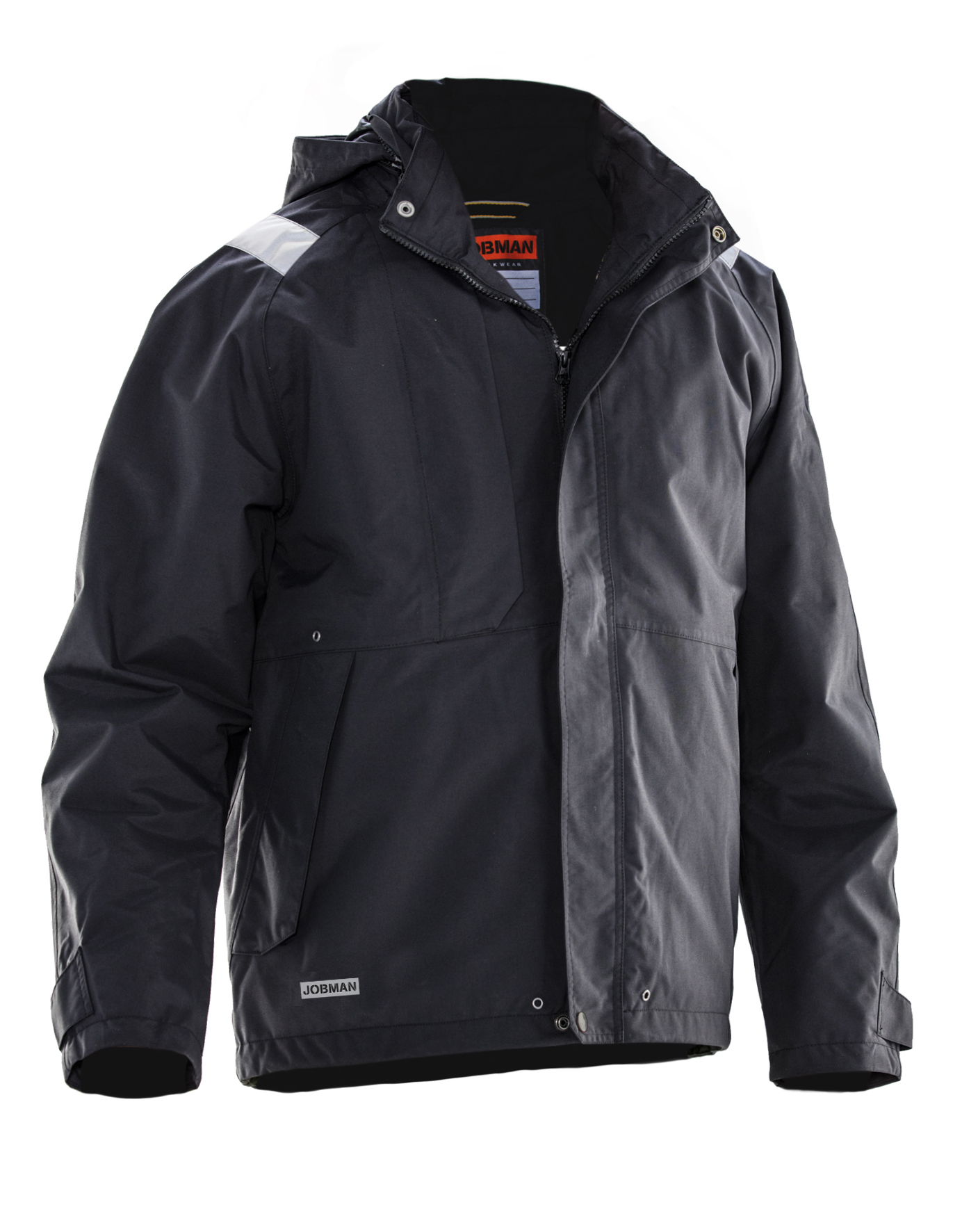 Waterproof shell jacket