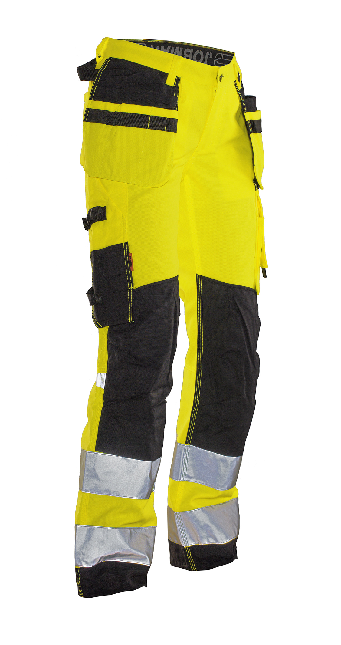 High visibility womans craftsman trouser star